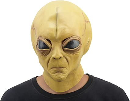 Halloween Costume Toy Story Inspired Mask Alien Mask CosPlay Toy Story Costume Dress Up Mask Three Eyed Alien Party Mask