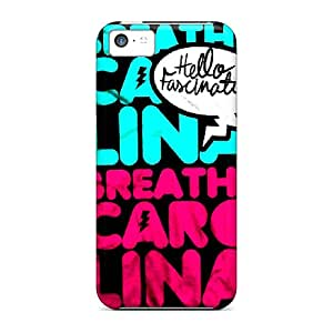 Hardcase88 Apple Iphone 5c Shock Absorption Hard Phone Case Unique Design HD Breathe Carolina Skin [ZuE11776AgkZ]