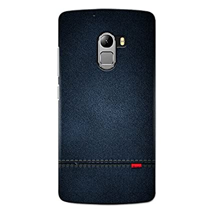 separation shoes 7c842 dbb14 CrazyInk 3D Back Cover for Lenovo K4 Note - Blue Leather Texture CILK4NB059