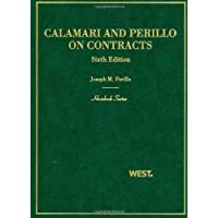 Calamari and Perillo's Contracts, 6th (Hornbook Series) (Hornbook Series Sixth Edition)