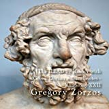 The ILIAD by Homer with Greek Dorian musical notes - Rhapsody XXII by Gregory Zorzos