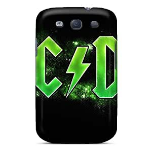 Curry-cases Cli821bOyD Case Cover Galaxy S3 Protective Case Ac Dc Band