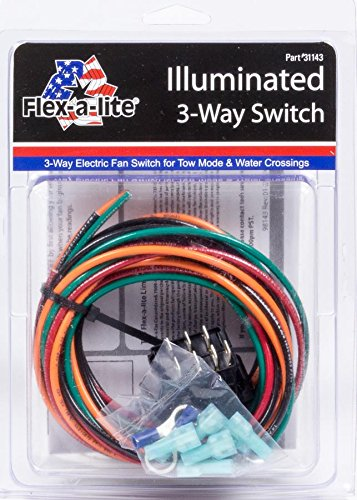 Flex-a-lite 31143 Illuminated 3-Way Switch