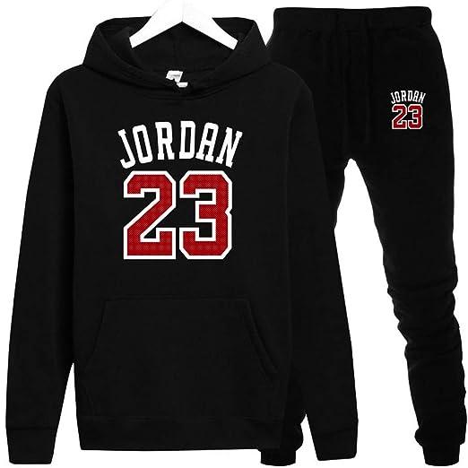 Moda jordan 23 Hombres Ropa Deportiva Imprimir Hombres Sudaderas Con Capucha Jersey Hip Hop Unisex Sudaderas: Amazon.es: Bricolaje y herramientas