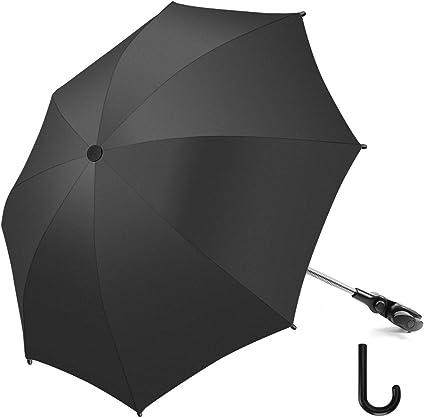 Ombrellino Passeggino Parasole Universale Carrozzina Protezione Anti UV 50 Ombrellino Parasole Universale Fissaggio per tubo rotondo o ovale un diametro inferiore a 2,5 cm