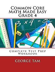 Common Core Math Made Easy, Grade 4