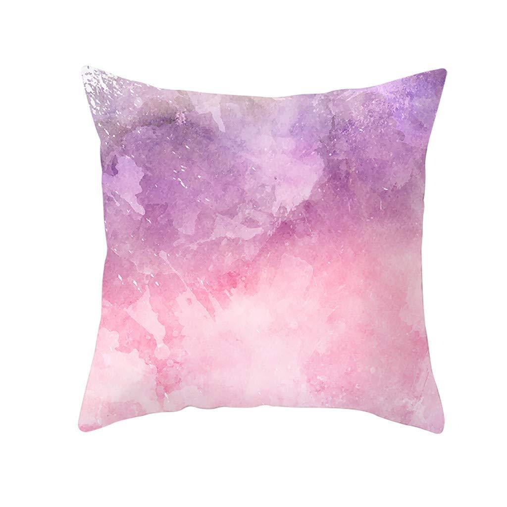 OrchidAmor 幾何学模様 ポリエステル 正方形 枕カバー ソファ スロー クッションカバー ホームデコレーション 2019  350 B07RR9QFKW