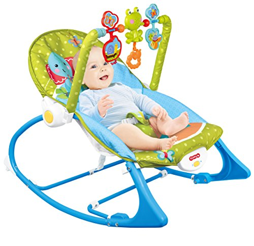 TotCraft Infant to Toddler Rocker Baby Chair Baby Rocker