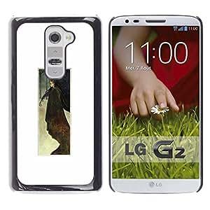 Be Good Phone Accessory // Dura Cáscara cubierta Protectora Caso Carcasa Funda de Protección para LG G2 D800 D802 D802TA D803 VS980 LS980 // Watercolor White Poster Minimalist