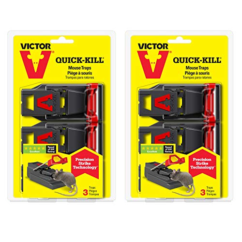Victor M140SSR 2-Pack Quick-Kill Mouse, 6 Traps ()