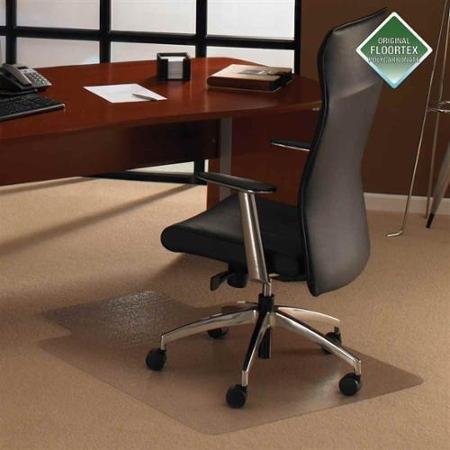 Cleartex Ultimat Chairmat w Lip For Plush Pile Carpets