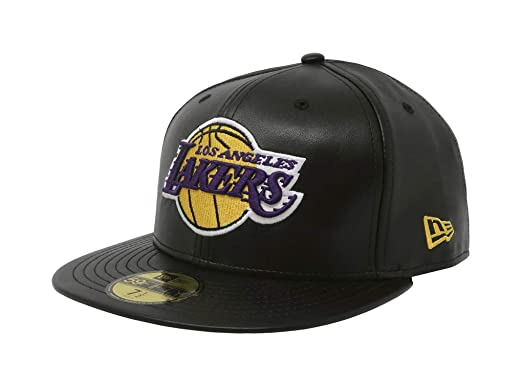 3bbf735c00eda0 New Era 59Fifty Hat Los Angeles Lakers Black Fitted Cap 70344054 (8 ...