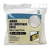 Heavy Gauge Plastic Vinyl Elastic Indoor Window Air Conditioner Cover, 22 x 31 x 4 Model: CZAC4