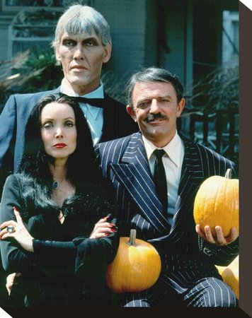 The Addams Family Print on Canvas