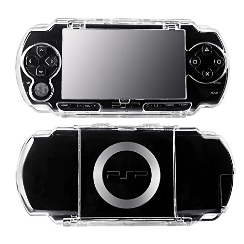 (Crystal Clear Transparent Protective Hard Cover Case for SONY PSP 1000 US Seller)