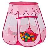 Infantastic® - KDZT04 - Carpa para niños - Incluye 100 bolas de colores