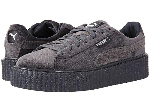 Puma X Fenty Par Rihanna Femmes Creeper Velours Plateforme Sneaker Glacier Gris
