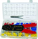 Swordfish 71150 Terminal & Crimping Tools Assortment, 157 Piece
