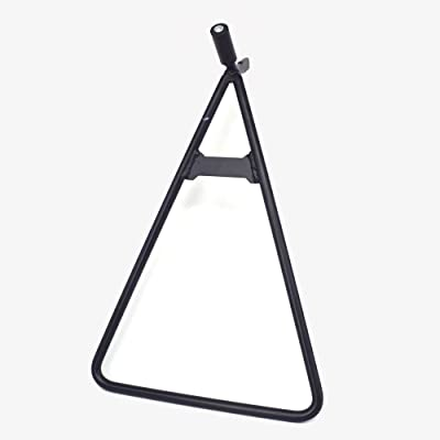Dirt Bike Universal Triangle Motorcycle Stand For Honda Yamaha Suzuki Kawasaki KTM (Black): Automotive