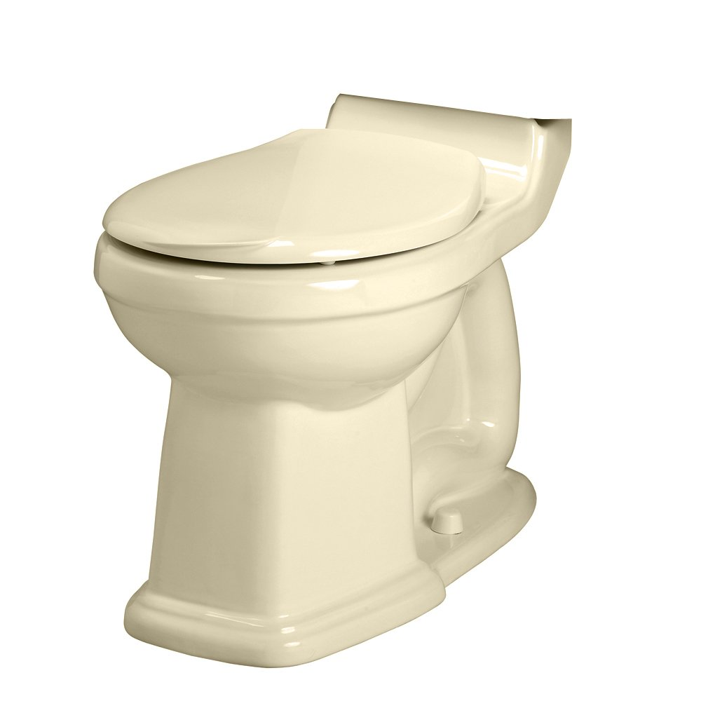 American Standard 3180.016.021 Townsend Champion-4 Right Height Round Front Seatless Toilet Bowl with Bolt Caps, Bone