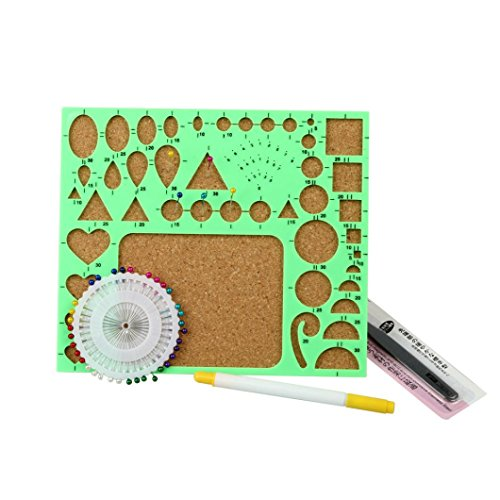 Kitchen Set Quilling: Covermason DIY Paper-Quilling Set Tools Template Mould