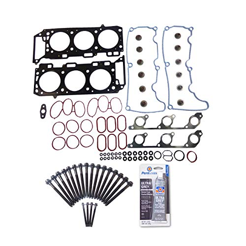Head Gasket Set Bolt Kit Fits: 00-11 Ford Explorer Land Rover Mazda 4.0L V6 SOHC ()