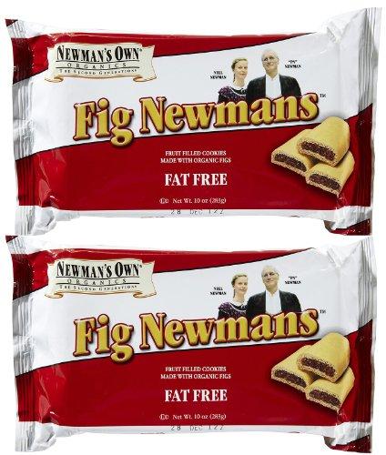 Fig Bars Recipe - Newmans Own Organic Fat Free Fig Cookie Bar, 10 oz, 2 pk