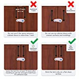 Baby Safety Cabinet Locks Pack of 4 Child Toddlers