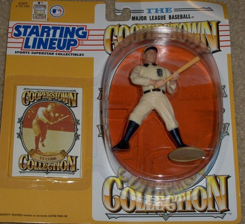 (1993 Ty Cobb Cooperstown Collection Kenner Starting lineup Figure)