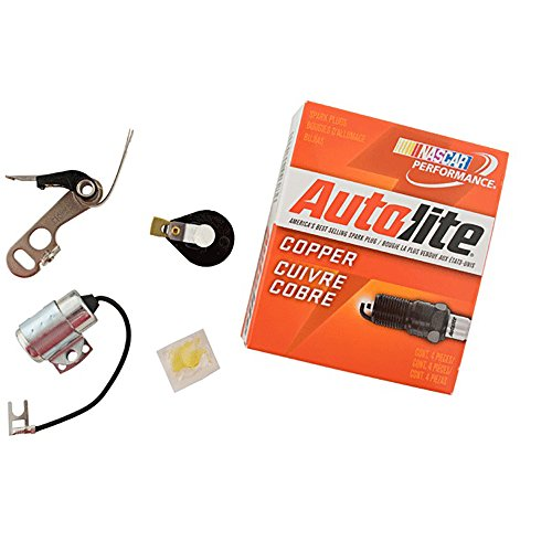 Allis Chalmers D10 D12 D14 Delco Distributor Tune up kit USA Copper wires
