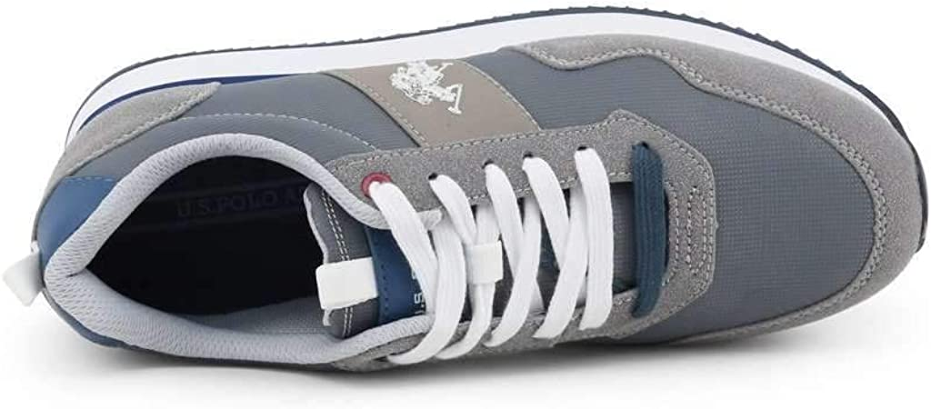 U.S Polo Men Grey Sneakers