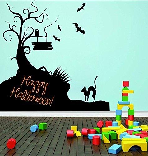 Zigzacs Happy Halloween Wall Sticker Home Décor Removable