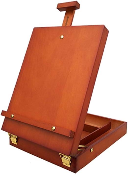 ZfgG Caja de Madera de la Pintura al óleo del Caballete del Aceite ...