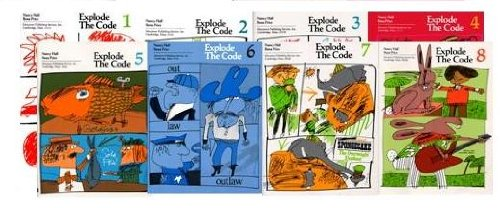 Explode the Code Books 1-8 SET (Essential Lessons for Phonics Mastery)