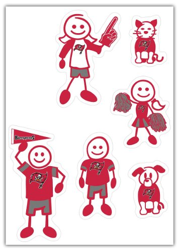 Buccaneers Family Decal - 1