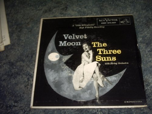 Velvet Moon Ep 45 Rpm Record