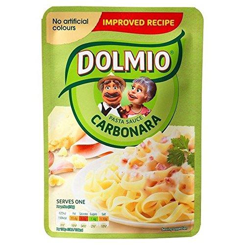 Dolmio Expreso Para Microondas Carbonara Cremosa Salsa De 150G (Paquete de 6)