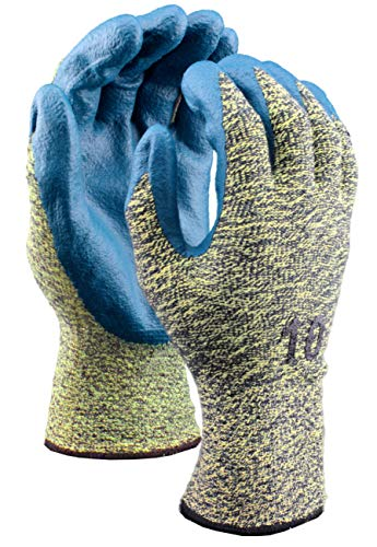 Stauffer Cut Resistant Glove with Nitrile Foam Coating, Cut Level A4, Extra Small, (Pack of 12) by Stauffer Glove & Safety (Image #3)