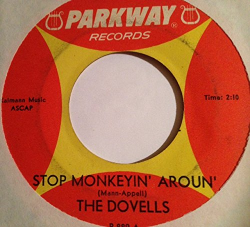 stop monkeyin' around 45 rpm single ()