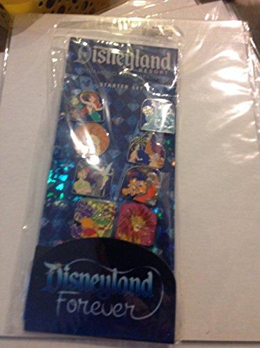 Disneyland Disney Pin (Disneyland Diamond Celebration Disneyland Forever Starter Pin Set)