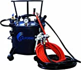 California Air Tools 365 Pressure Pot with HVLP Spray Gun and Hose