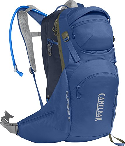 CamelBak Fourteener 24 100 oz Hydration Pack, Galaxy Blue/Navy Blazer ()