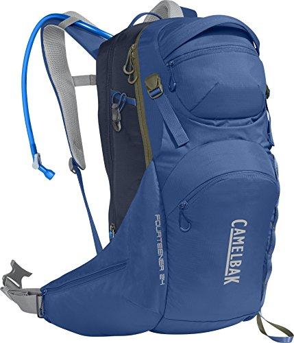 CamelBak Fourteener 24 100 oz Hydration Pack, Galaxy Blue/Navy Blazer