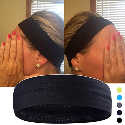 Keklle Non-Slip Yoga, Sport, Cooling Headbands That Can Absorb Sweat And Which Has A Very High Elasticity, Useful for Fitness, Gym, Great For Women And Men