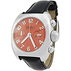 Pasquale Bruni Uomo Chronograph Stainless Swiss Made Automatic Men's Watch 01MCA42