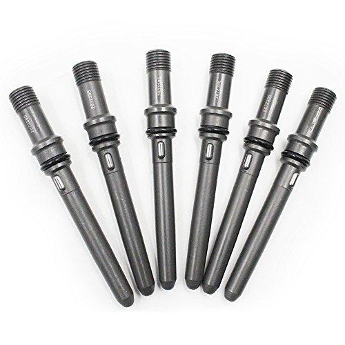 Koauto New 6 Pcs Injector Connector Tubes For Dodge Cummins 5.9L 98.5-02 24V W/VP44