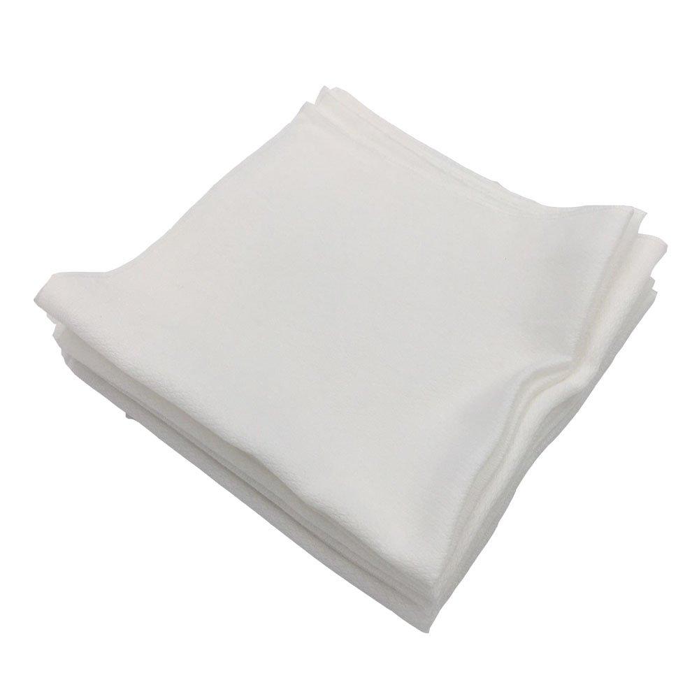 [Baby Rumi] 100% Algodón Pañuelo de bebé Gasa Muselina Cuadrado (30 piezas blancas): Amazon.es: Bebé