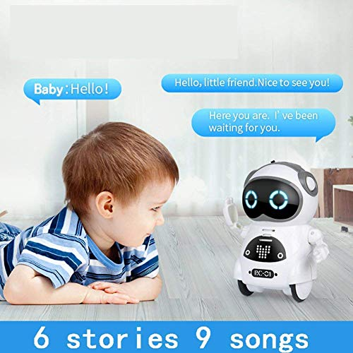 WomToy Pocket Robot for Kids WTR4 Robot,Voice Recording