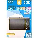 JJC LCP-J4 Ultra Hard Polycarbonate LCD Film Screen Protector For NIKON 1 J4 1 J5 1 V3 (2 Kits)