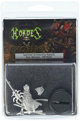 Privateer Press - Hordes - Skorne: Epic Warlock Archdomina Makeda Model Kit 3